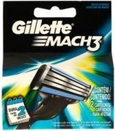 Gillette - Mach3 ( 2 Pcs ) - Spare Heads -