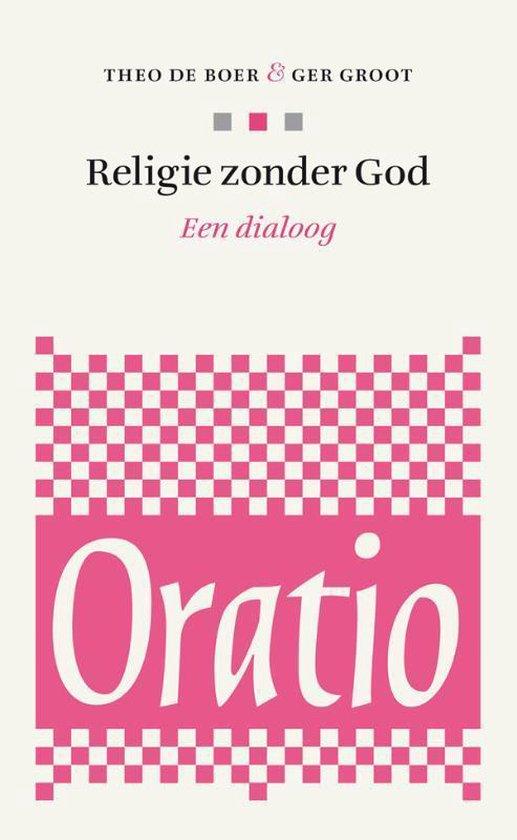 Boek cover Oratio 4 -   Religie zonder God van Theo de Boer (Paperback)