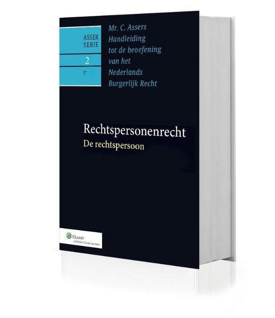 Boek cover Asser-serie 2-I* -   De rechtspersoon van M.J. Kroeze (Hardcover)