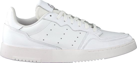 adidas Supercourt Heren Sneakers - Ftwr White/Ftwr White/Core Black - Maat 42