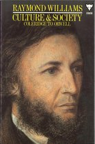 Boek cover Culture and Society van Raymond Williams