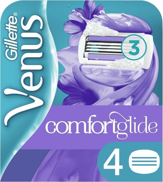 Gillette Venus ComfortGlide Breeze Scheermesjes Vrouwen - 4 stuks