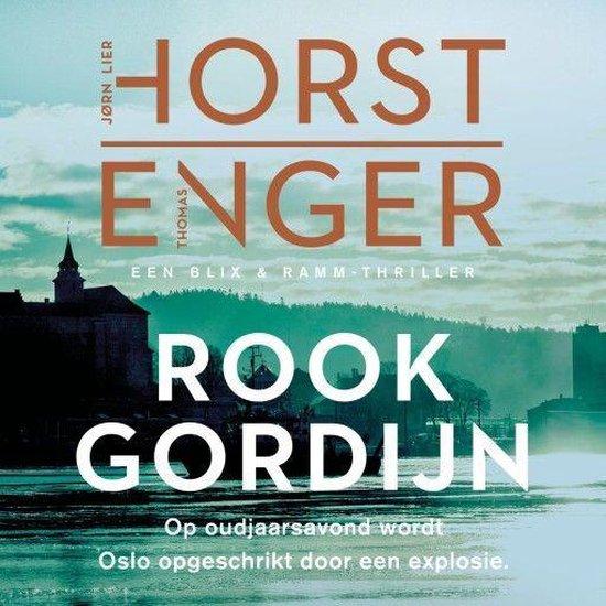 Boek cover Rookgordijn van Jørn Lier Horst (Onbekend)