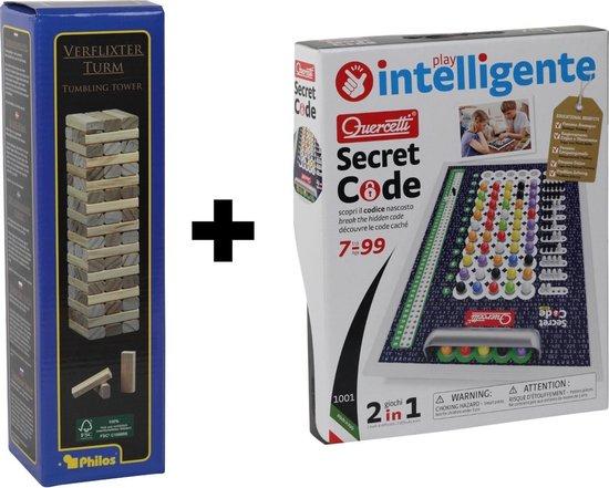 Afbeelding van het spel Stapeltoren + Quercetti Secret Code