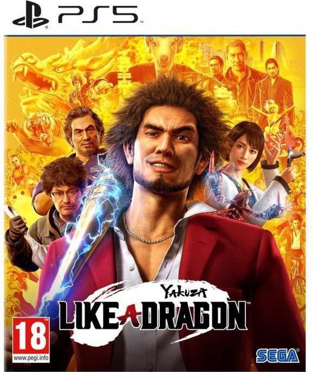 Yakuza Like a Dragon PS5-game