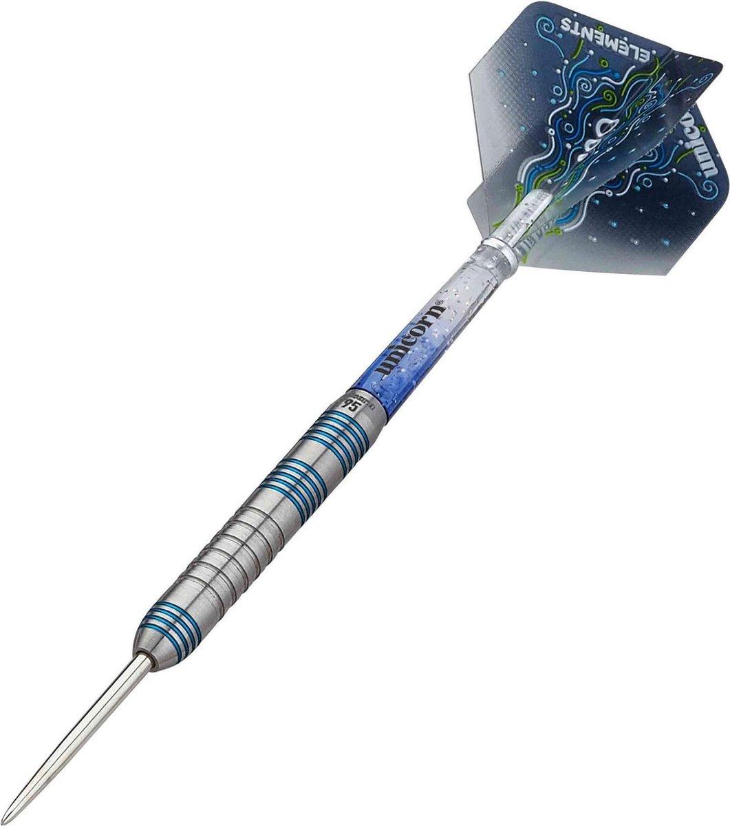 Unicorn Dartpijlen Core Xl T95 Steeltip 21g Tungsten Zilver