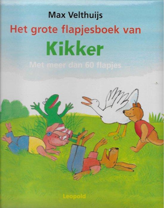Kikker - Het grote flapjesboek van Kikker en zijn vriendjes