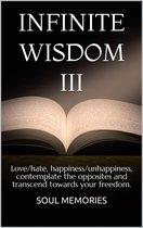 Omslag INFINITE WISDOM III