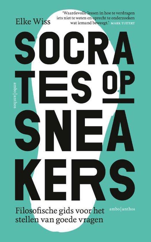 Boek cover Socrates op sneakers - cadeau-editie van Elke Wiss (Hardcover)
