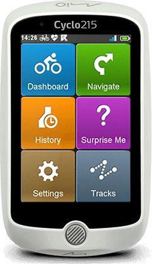 Mio Cyclo 215 Full EU - GPS fietsnavigatie - Wit
