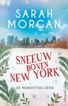 Sneeuw boven New York