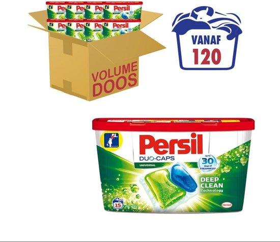 Persil Duo-Caps Universal Wascapsules - Wasmiddel Capsules - Voordeelverpakking - 8 x 15 wasbeurten