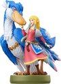 Nintendo Amiibo Ingame speelfiguur - Zelda + Loftwing