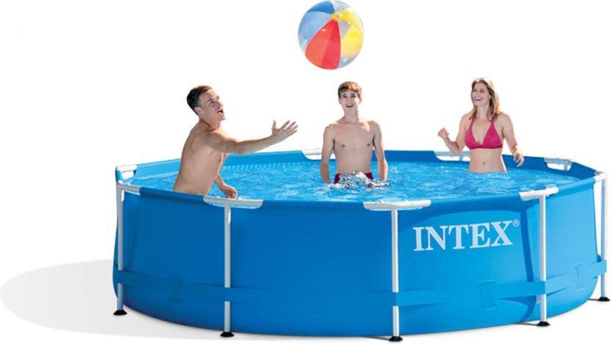 Intex Metal Frame zwembad 305 x 76 cm-Zonder filterpomp