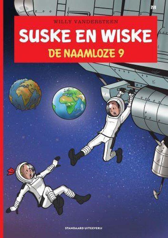 Boek cover Suske en Wiske 359 -   De naamloze 9 van Willy Vandersteen (Paperback)