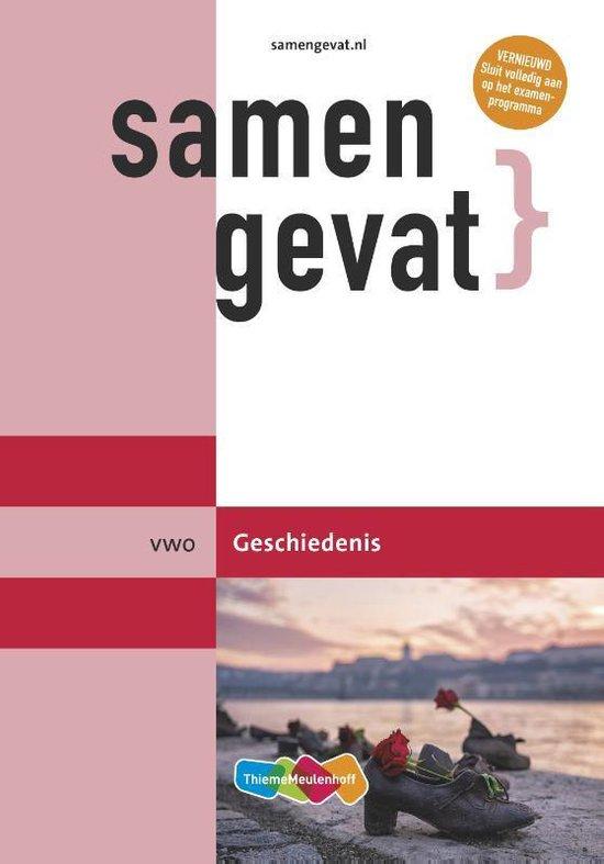 Boek cover Samengevat vwo Geschiedenis van  (Paperback)