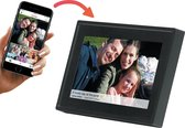 Denver PFF-711 - Digitale Fotolijst - Fotokader - 7 inch - IPS touchscreen - met Frameo software - Zwart