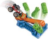 Hot Wheels Lanceerset Monster Trucks Junior Blauw 7-delig