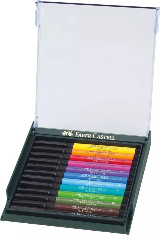 Faber-Castell - Pitt Artist Pen - Bright (267421) - Faber-Castell