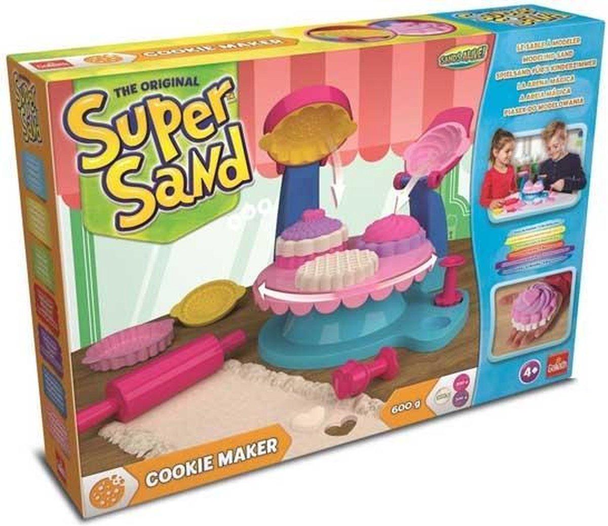 Super Sand Cookie Maker speelzand 8-delig