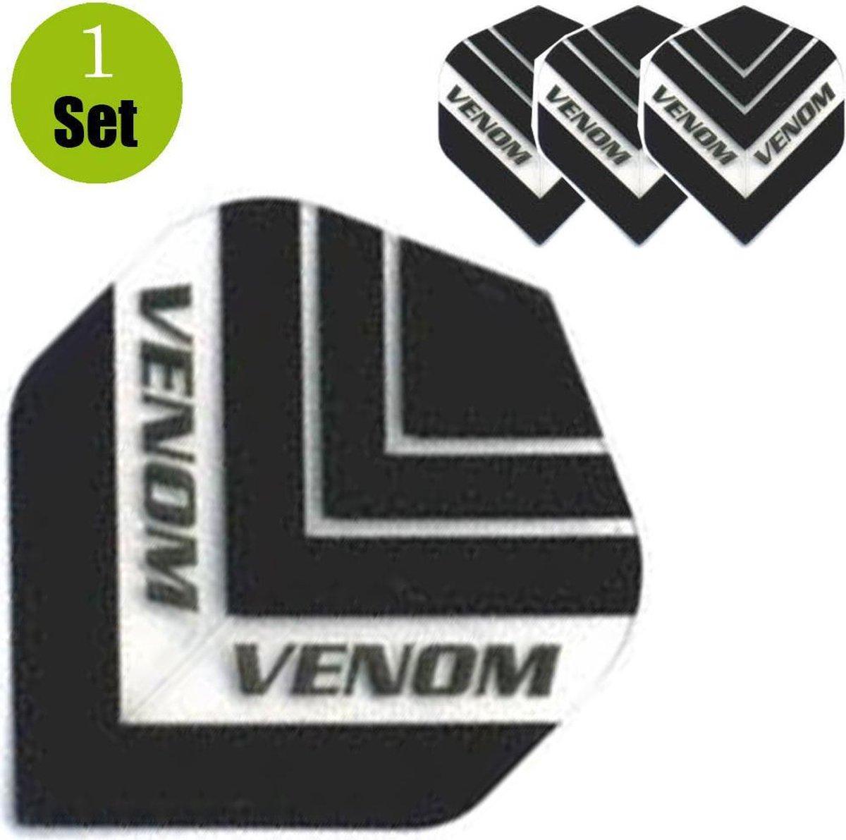 Ruthless Venom HD150 Dartflights - Zwart- ()