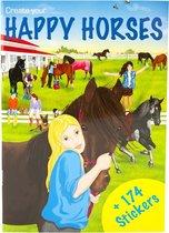 Creative Studio Create your Happy Horses Mini Stickerboek