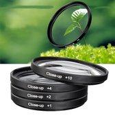 4x 58mm Close up Filter Macro +1+2+4+10 camera lens filter