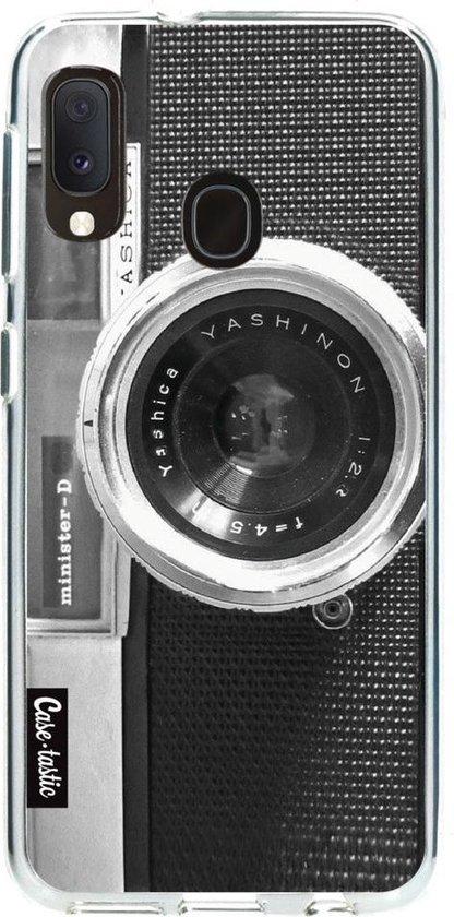 Samsung Galaxy A20e hoesje Camera Casetastic Smartphone Hoesje softcover case
