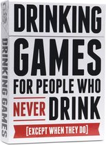 Afbeelding van Drinking Games For People Who Never Drink (Except When They Do)