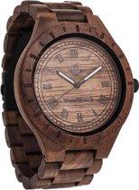 De officiële WoodWatch   Oaklee   Houten horloge heren