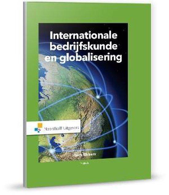 Boek cover Internationale bedrijfskunde en globalisering van Haico Ebbers