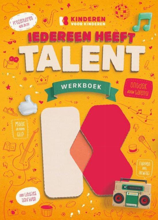 Boek cover Kinderen voor Kinderen  -   Iedereen heeft talent van Kinderen voor Kinderen (Paperback)