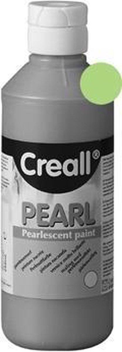 VERF CREALL PEARL GROEN 250ML