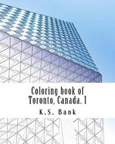 Coloring Book of Toronto, Canada. I