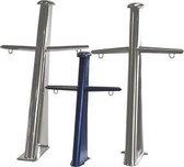 RVS Mast 160 cm - gepolijst