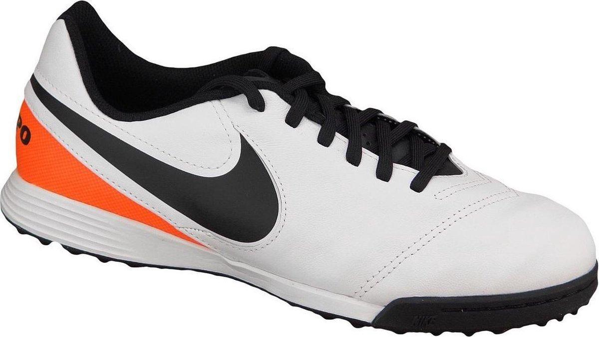 Nike Kids Tiempo Legend VI TF Jr 819191 108, Kinderen, Wit, Kunstgrasschoenen maat: 38,5 EU