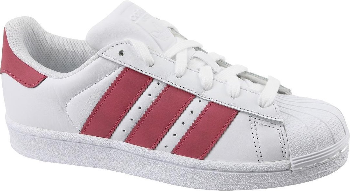   adidas Superstar J CQ2690, Vrouwen, Wit, Sneakers