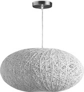 Home sweet home hanglamp Cocon ovaal - wit