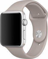 Apple watch sport band - kiezelsteen - 38mm en 40mm - SM