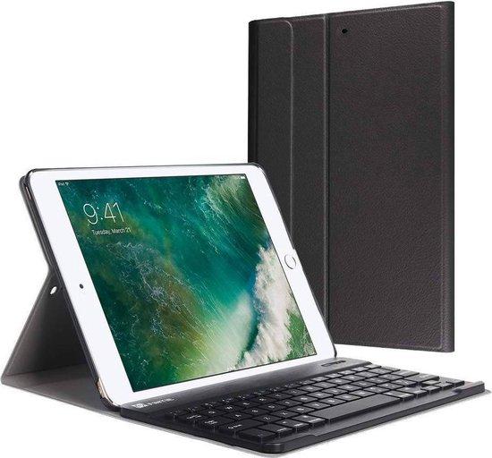 Bluetooth Keyboard Bookcase voor iPad (2018) / (2017) / Air (2) - Zwart