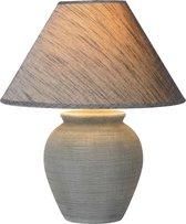 Lucide RAMZI - Tafellamp - Ø 35 cm - 1xE27 - Grijs