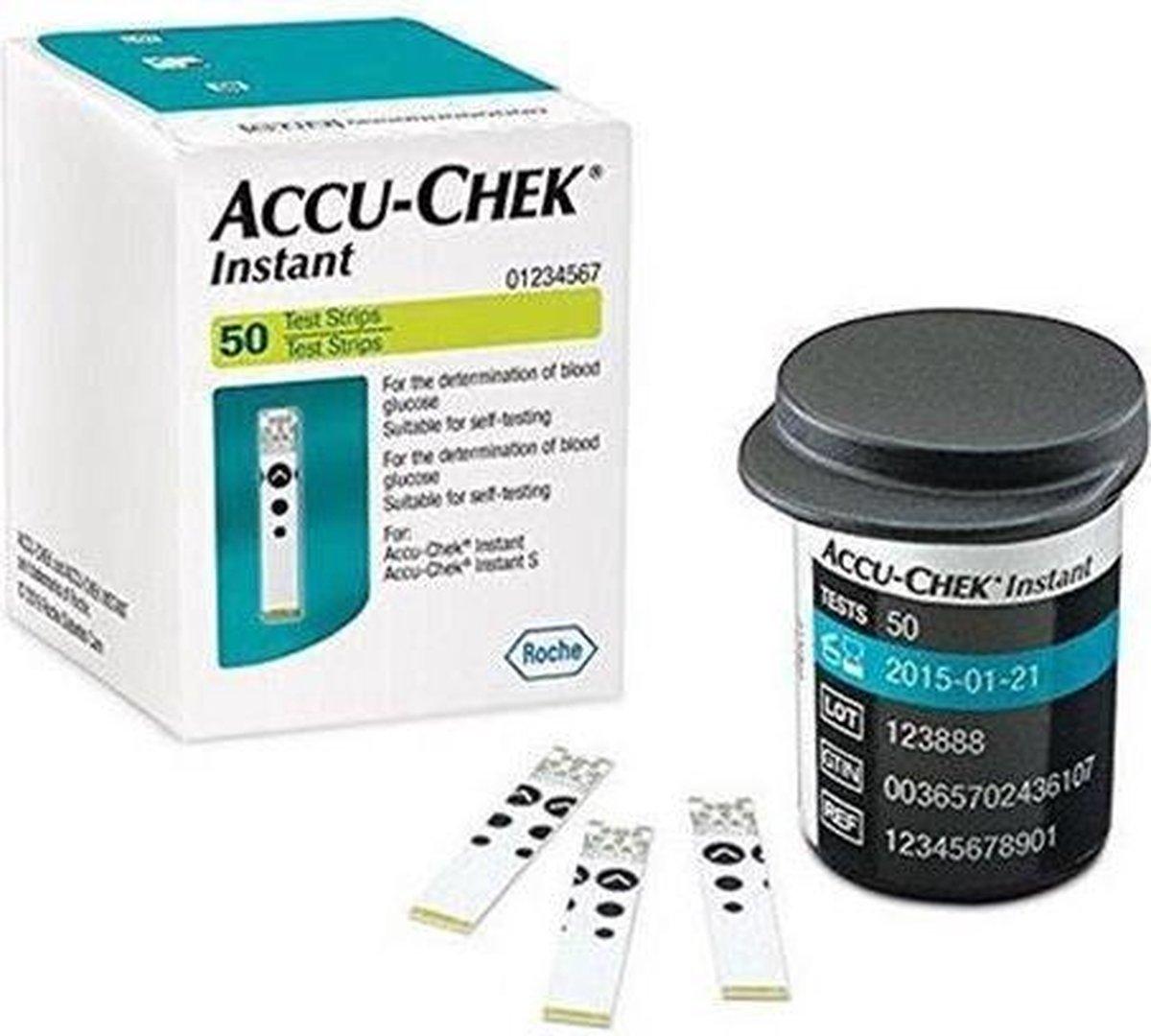 Accu Chek Instant per 50 teststrips