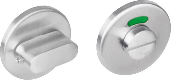 Intersteel WC-sluiting - 8mm plat verdekt rond 50x4mm - RVS - 0035.346760