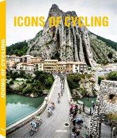 Boek cover Icons of Cycling van Kirsten Van Steenberge
