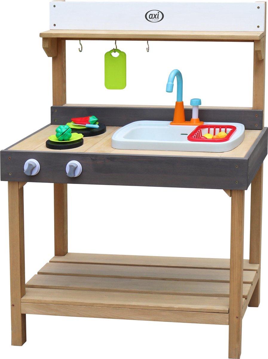 AXI Rosa Zand & Water Speelkeuken Medium - Incl. 17 accessoires - Modder Keuken