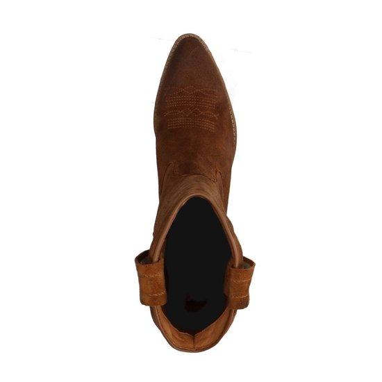 Sacha - Dames - Cognac cowboylaarzen van suède - Maat 41 yWrLMMWK