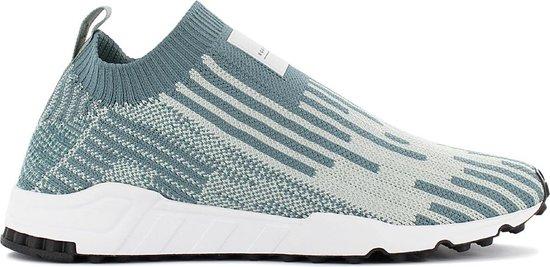 adidas EQT Support SK PK Sock Primeknit B37525 Heren Sneakers Sportschoenen Schoenen Groen Grijs Maat EU 45 13 UK 10.5
