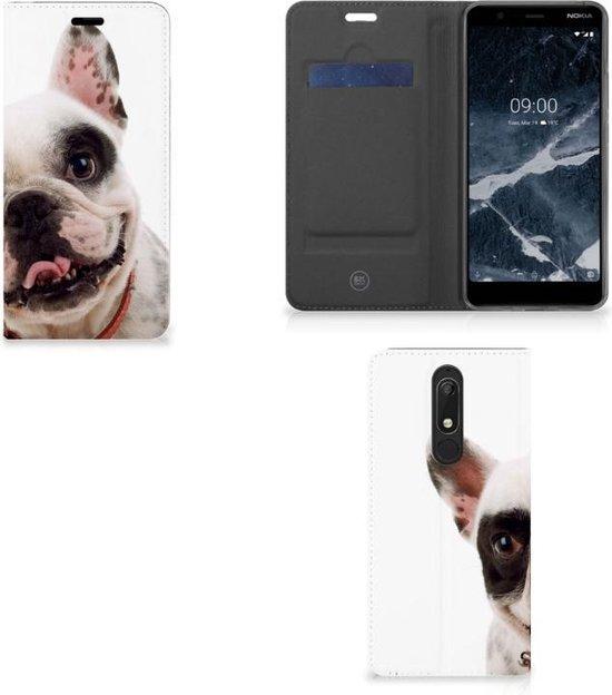 Nokia 5.1 (2018) Hoesje maken Franse Bulldog
