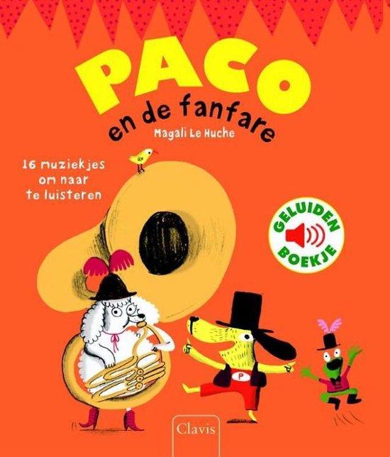 Boek cover Paco en de fanfare van Magali Huche (Hardcover)