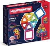 Magformers Basic Set Line - 30 Onderdelen - Magnetisch speelgoed